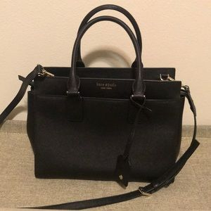 Kate spade purse black